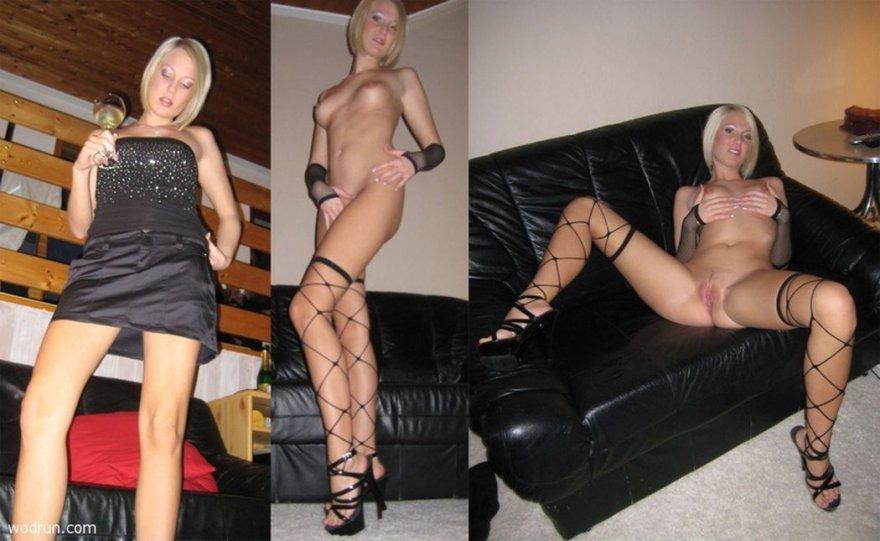 Clothe off, socks on Porn Photo