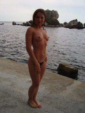 amateur photo Down by the water