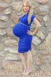 amateur photo Big Blue Blonde
