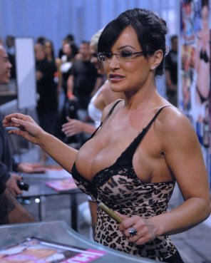 amateur photo Lisa Ann's Top holding on for dear life