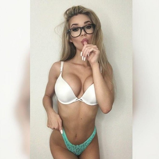 Sweet with glasses Porn Photo