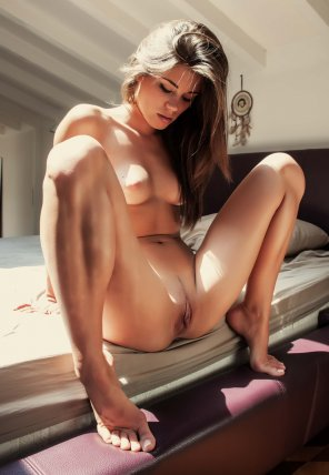 amateur photo Caprice in the morning