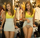 Ashley Brookes at the Mall