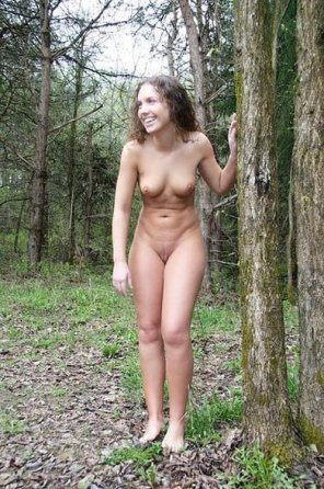 amateur photo Feeling vulnerable in the great outdoors