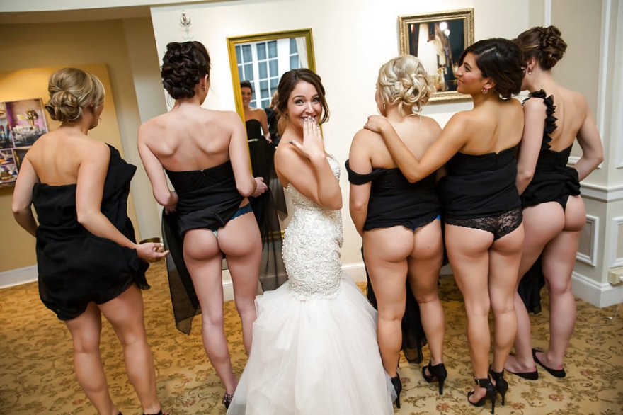 Wedding Party Porn