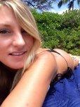 amateur photo Blonde Bikini