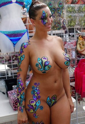 amateur photo Body art