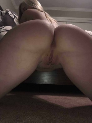 amateur photo Perfect from behind too...