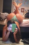 amateur photo Thick girl taking a selfie
