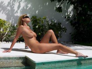 amateur photo Sunbathing...