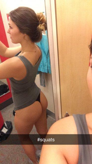 #squats Porn Photo