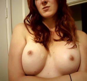 amateur photo New tits, [f]resh load.