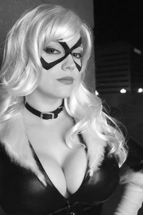 amateur photo Black Cat cosplay