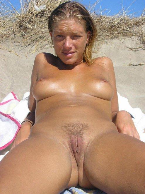 Beach Pussy Porn Photo