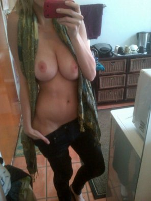 amateur photo Scarf Around Her Neck