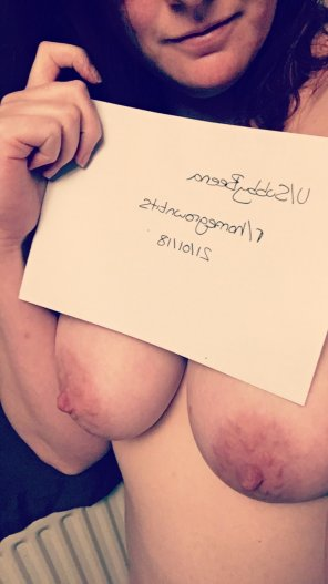amateur photo IMAGEGuess it's about time I got my [verification] around here. [image]