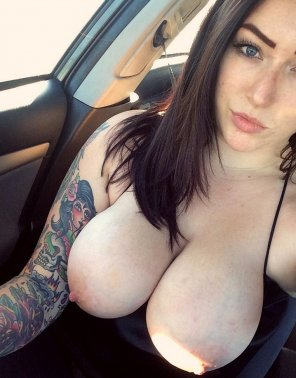amateur photo Nice tats