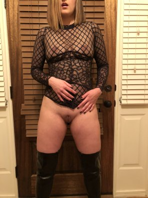 amateur photo I unsnapped my Sheer Teddy [f]or y'all!