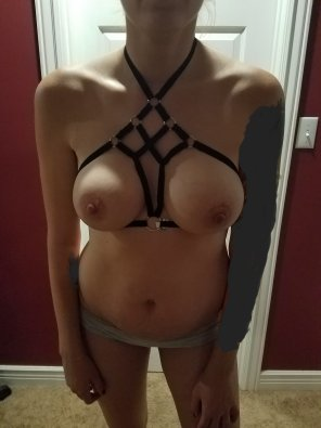 amateur photo Like my new bra[f]?