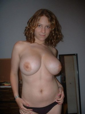 amateur photo IMAGE[Image] Big titties caught by boyfriend in her bedroom