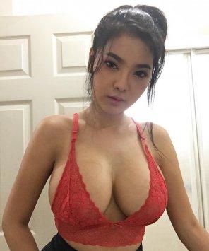 Asian creampie wet penetration