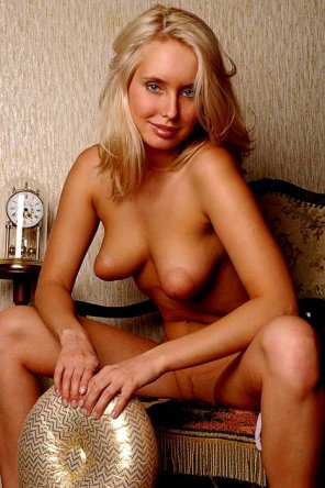 amateur photo Cute Blonde with Torpedos