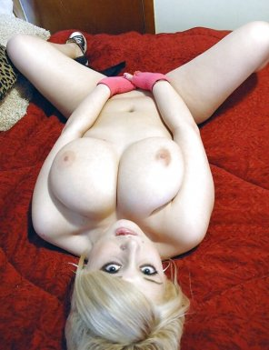 amateur photo Blonde broad