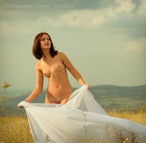 amateur photo Crimean girl