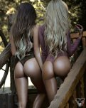 amateur photo Twin Ass :)