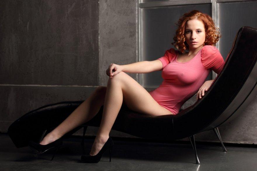 Red curls Porn Photo