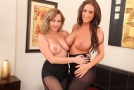 Jodie Gasson and Stacey Poole
