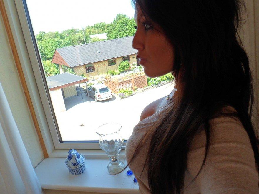 Standing near the window Porn Photo