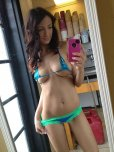 amateur photo Bikini Barista