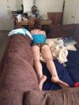 amateur photo Couch potato
