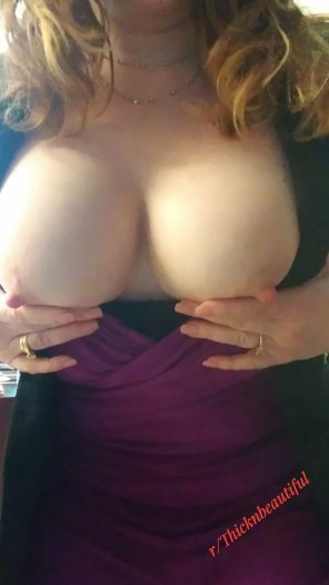 amateur photo IMAGE[Image] Haven't visited here in a while. Here's are my homegrown tits from the office saying hello 💋