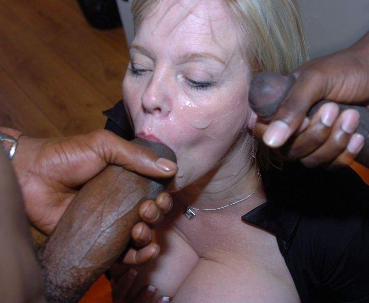 two black dongs Porn Photo