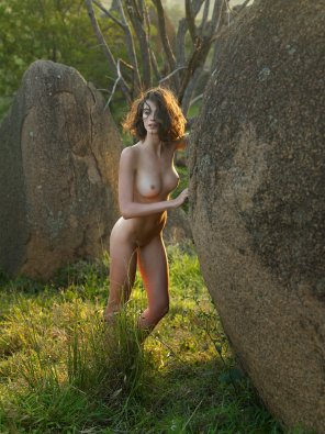 amateur photo Girls got serious stones