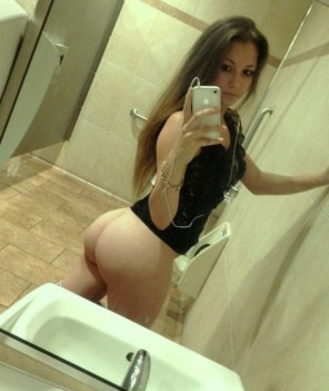amateur photo Public bathroom