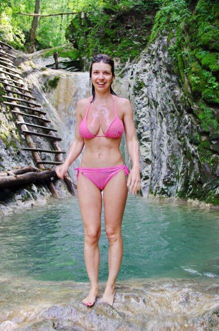 pink bikini Porn Photo