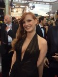 amateur photo Jessica Chastain [Golden Globes]