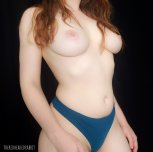 Blue thong 💙