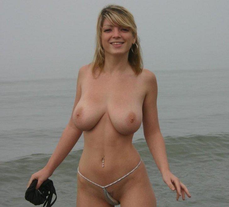 Beach Beauty Porn Photo