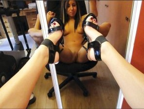 amateur photo High Heel Selfie