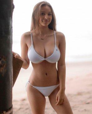 amateur photo White bikini