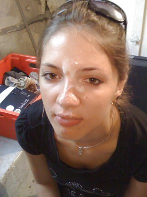 amateur photo Sluts Look Better With Cum All Over Their Face