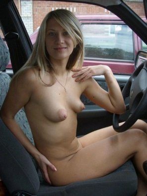 amateur photo In the drivers seat.