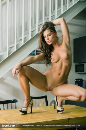 amateur photo Caprice on a table
