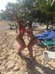 amateur photo Fun beach girls