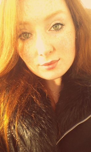 amateur photo Freckle face Irish girl