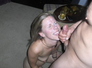 amateur photo Massive Facial And An Eager Face